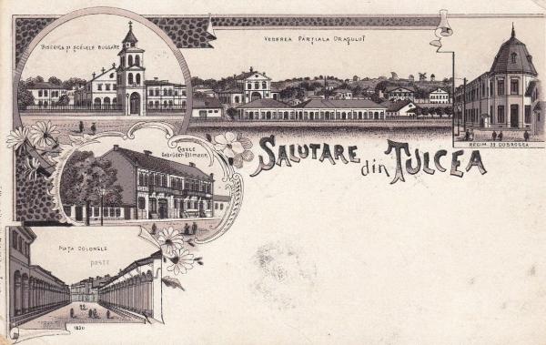 ilustrata tulcea 1901 fata